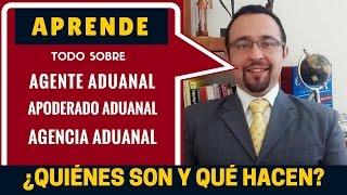 ¿Qué es un Agente Aduanal, Apoderado Aduanal y Agencia Aduanal?