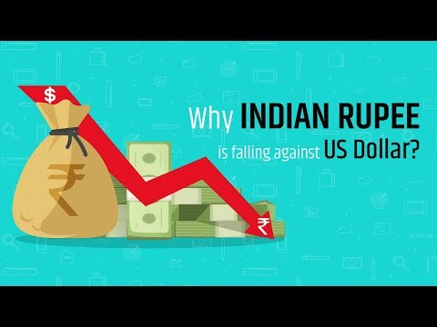 Why Indian Rupee is falling against US Dollar?