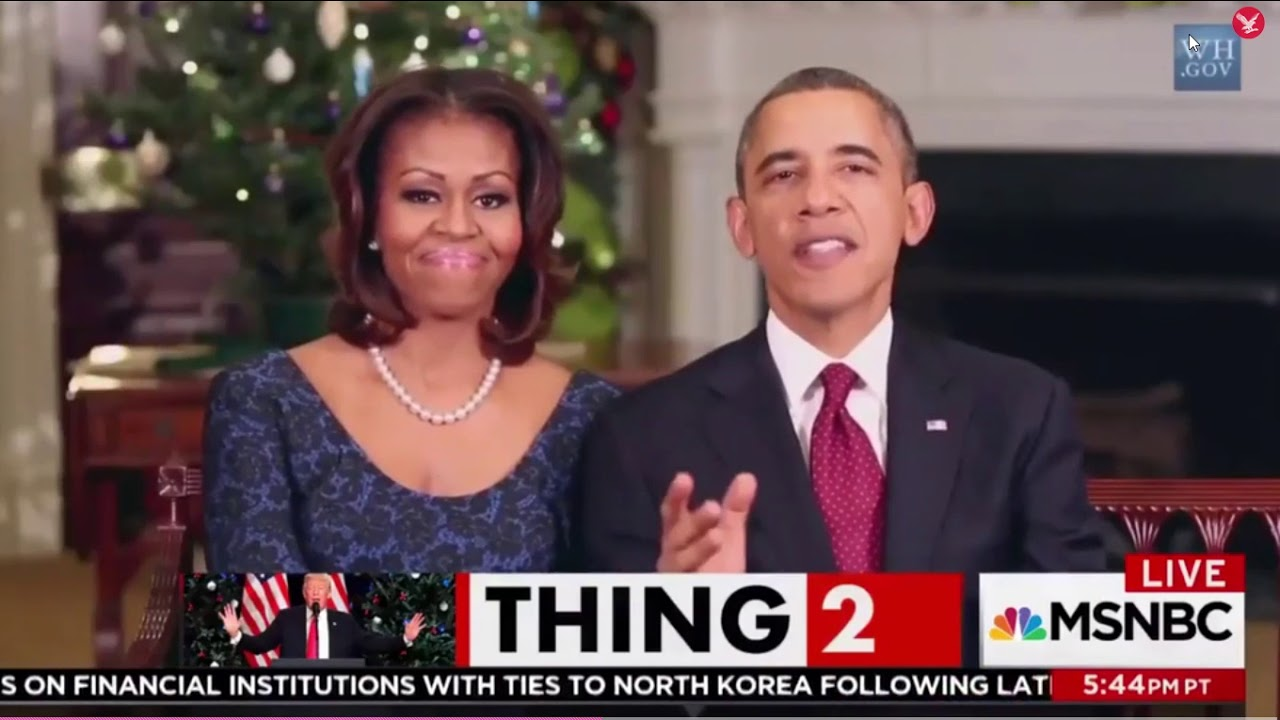 Obama saying \'Merry Christmas\' - YouTube