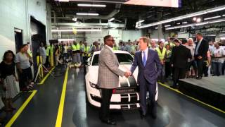 Shelby GT350R Mustang Launch Day at Flat Rock Assembly Plant