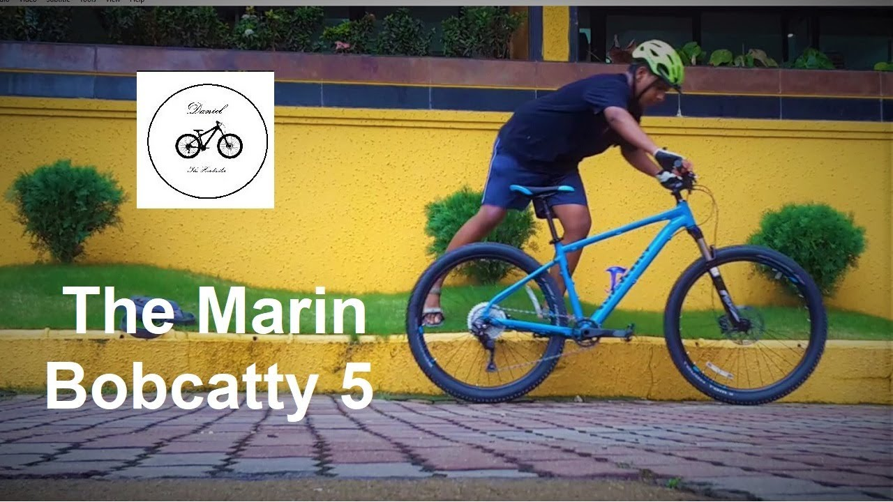 200ea123445 The Marin Bobcat Trail 5 (2018) - First Impressions... - YouTube