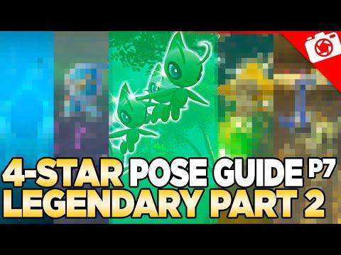 Legendary Pokemon (Part 2) 4-Star Pose & Request Guide   New Pokemon Snap