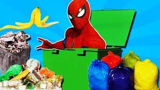 Человек паук в МУСОРНОМ БАКЕ! Прохождения игры Marvel's Spider Man #10