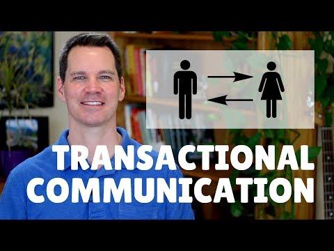Transactional Model of Communication