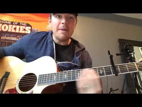 Night Train - Jason Aldean (Beginner Guitar Lesson)