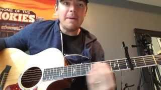 Night Train - Jason Aldean (Beginner Guitar Lesson)