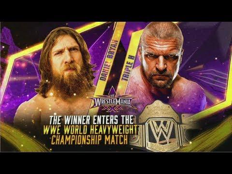 "WrestleMania 30 - Daniel Bryan vs HHH ""Monster"" promo"