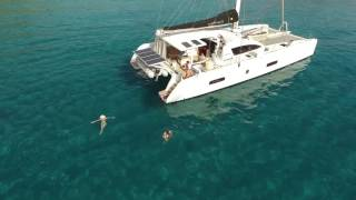 Addiction from Drone (25i) - Catamaran Outremer 5X