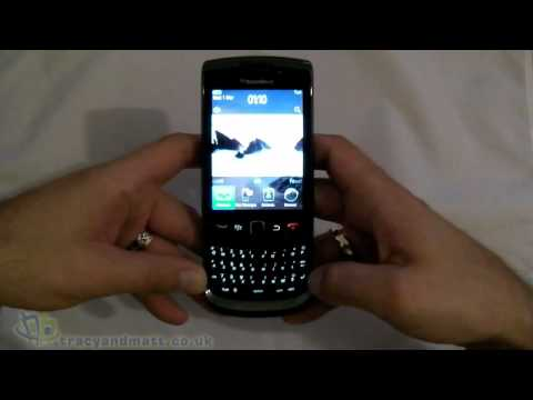 BlackBerry Torch 9800 Unboxing Video