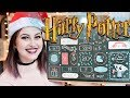 HARRY POTTER ADVENT CALENDAR UNBOXING FROM GOBSTONE ALLEY 2017 | Book Roast