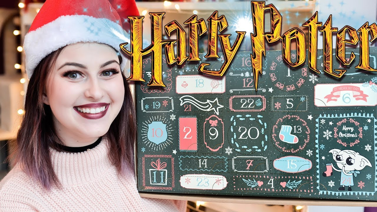 Harry Potter Advent Calendar.Harry Potter Advent Calendar Unboxing From Gobstone Alley 2017 Book Roast