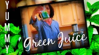 DELICIOUS GREEN JUICE? THE BEST GREEN JUICE RECIPE!