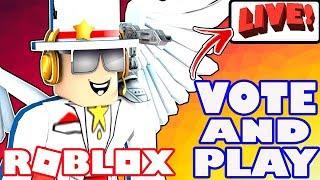 Roblox Live Stream - RDC Hype e notizie mentre giochiamo giochi che si vota su! - Jailbreak e altro ancora!