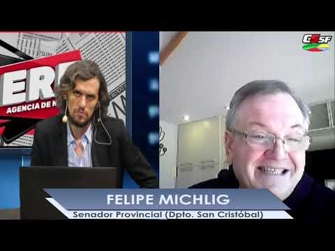 Felipe Michlig: Molestan las medidas inconsultas de Perotti