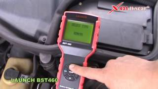 launch bst460 latest released battery system tester ea bst 460