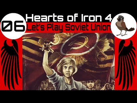 Hearts of Iron 4 ◄ Let's Play as the Soviet Union [06] ► Russian Civil War!!!!