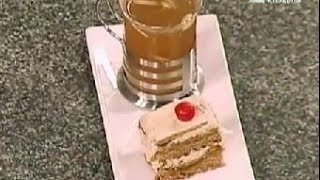 Coffee Flavored Gateau & Almond Tea - Nikhil Rastogi - Rasme-e-rasoi