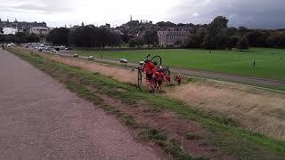 Bikers in Scotland