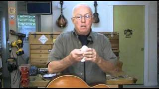 Shellac for French-polishing a guitar finish