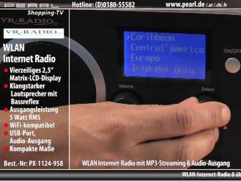 WLAN Internet-Radio mit MP3-Streaming & Audio-Ausgang (refurbished)