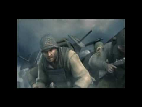 Company of Heroes D-Day Scene