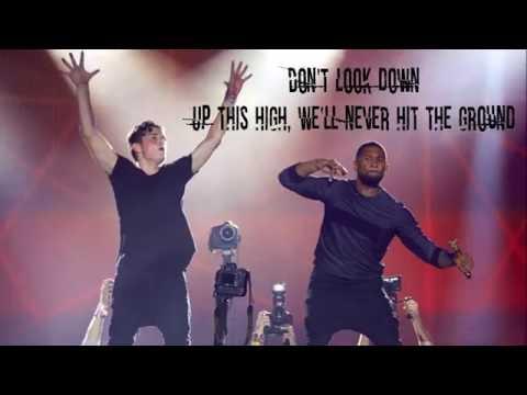 Martin Garrix feat  Usher   Don't Look Down Lyrics