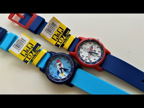 Q&Q VR41 Watch For Kids By Citizen