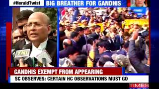 Gandhis exempt from appearing