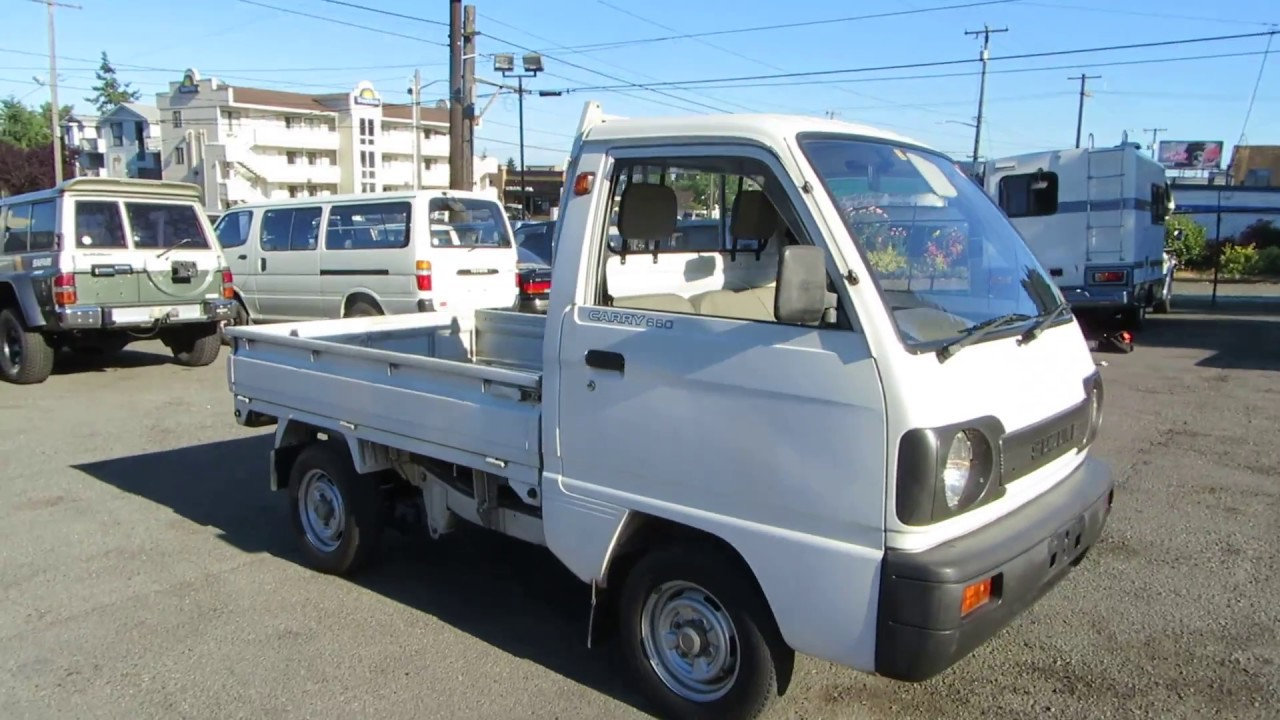 hight resolution of suzuki carry 1991 rwd perfect 6k miles