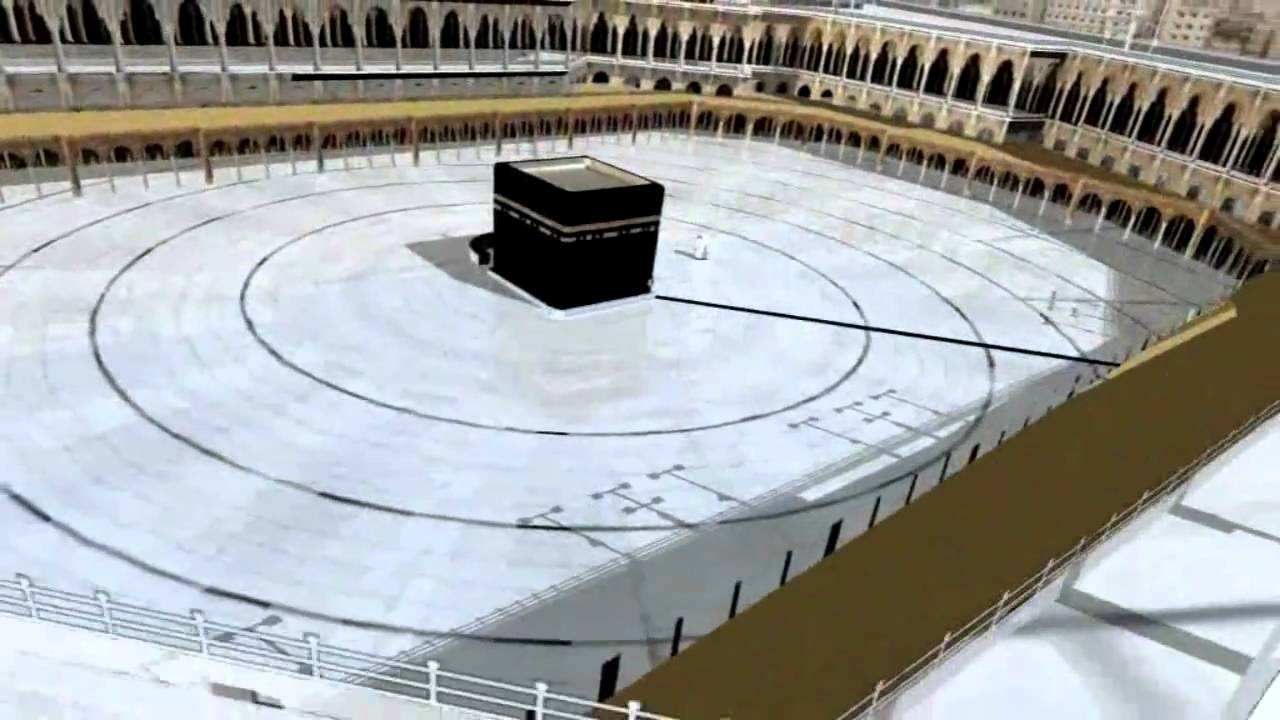 Hd Kaba In 3d Tour Of Haram Youtube