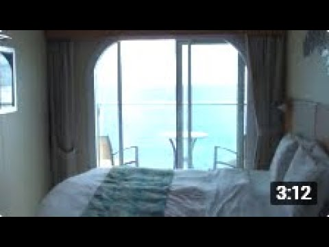 oasis of the seas balcony cabin tour youtube