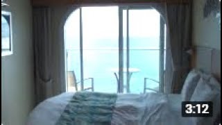 Oasis Of The Seas - Balcony Cabin Tour
