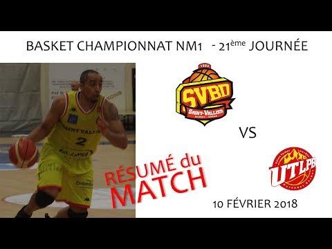 2018 02 10 Séquence Basket   Championnat NM1 21ème journée   SVBD vs TARBES LOURDES