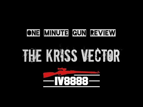 One Minute Gun Review: The Kriss Vector