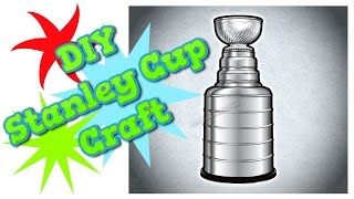 DIY Stanley Cup craft for Father's Day