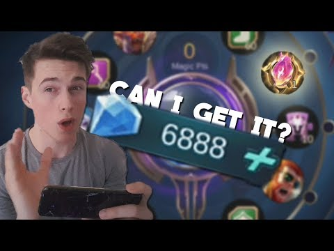 7K DIAMONDS on Magic Wheel! +FaceCam / Mobile Legends Saber Codename Storm