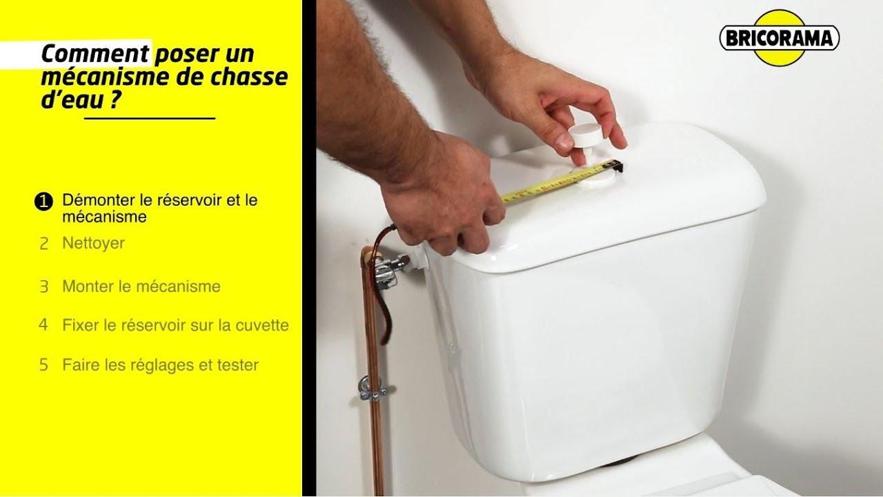 Tuto Poser Un Mécanisme De Chasse D Eau Bricorama
