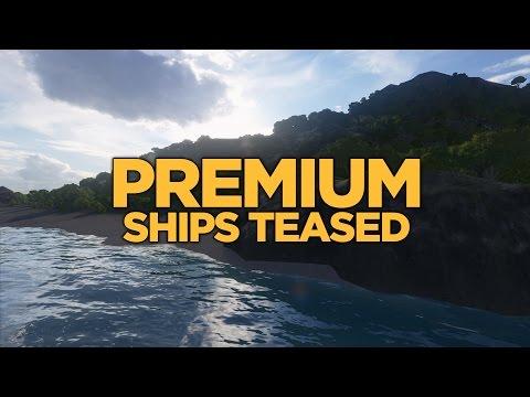 World of Warships - Premium Ships Teased