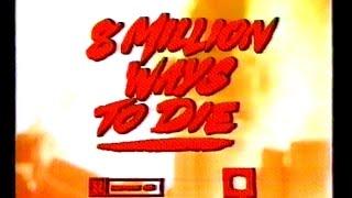 Śmierć na wiele sposobów (1986) (8 Million Ways to Die) zwiastun VHS