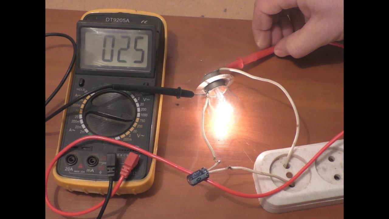 Как сделать электрическую лампочку