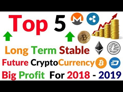 Top 5 Stable Safest Long Term CryptoCurrency Investment 2018 - 2019 Full Information Hindi Video