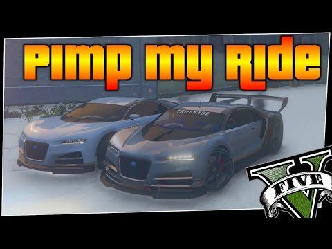 GTA 5 - Pimp My Ride #198   Truffade Nero Custom   Car Customization Competition