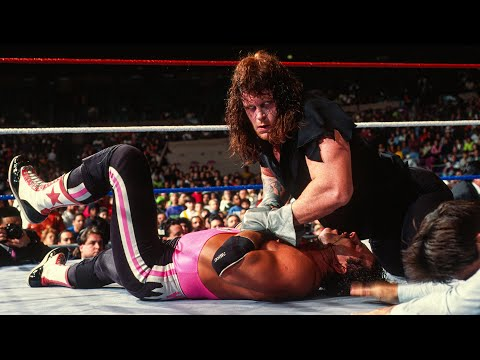 The Undertaker Vs. Bret Hart: Jan. 31, 1992