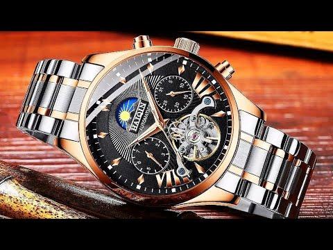 Мужские механические часы HAIQIN с автоподзаводом / HAIQIN Men's Automatic Mechanical Watch