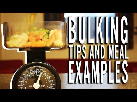 Quick Easy High Calorie Meal Examples Bulking Tips