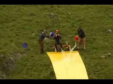 Worlds Longest Water Slide Jump Ever Youtube