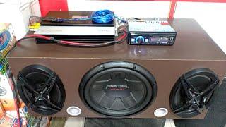 Pioneer subwoofer | Pioneer subwoofer bass test | Sony car 6×9 speakers | Sony xs-fb693e car speaker
