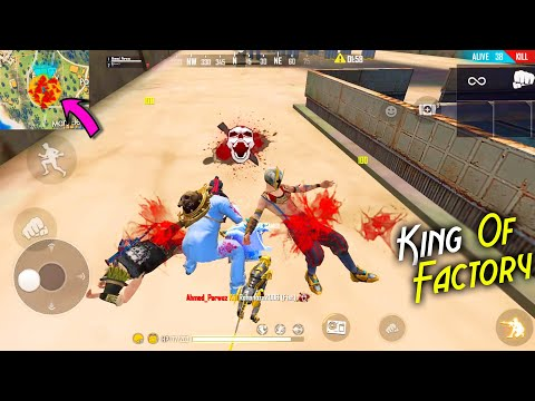 King Of Factory Fist Fight Solo vs Duo 13 Kills Op Gameplay | Garena Free Fire - @P.K. GAMERS