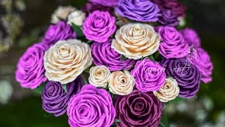 Tutorial Quilling - Rosas de Papel