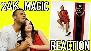 "BRUNO MARS ""24K MAGIC"" ALBUM REACTION! Blair Thompson"